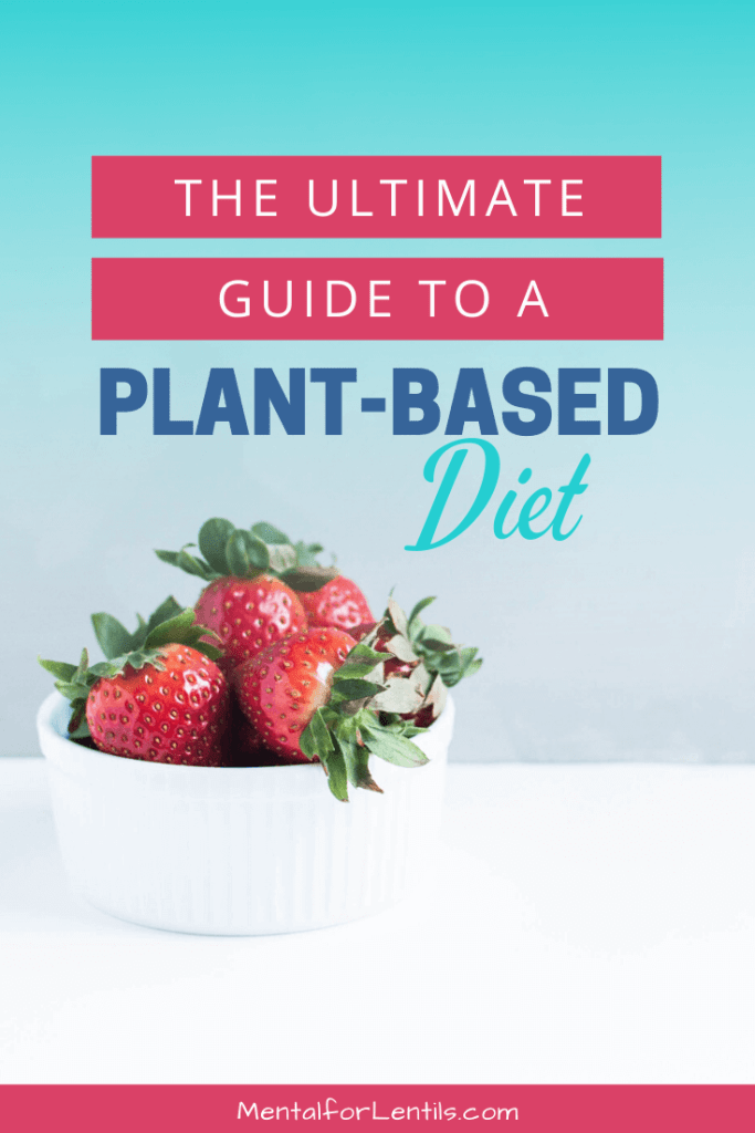 ultimate guide to a plant-based diet pin image 3