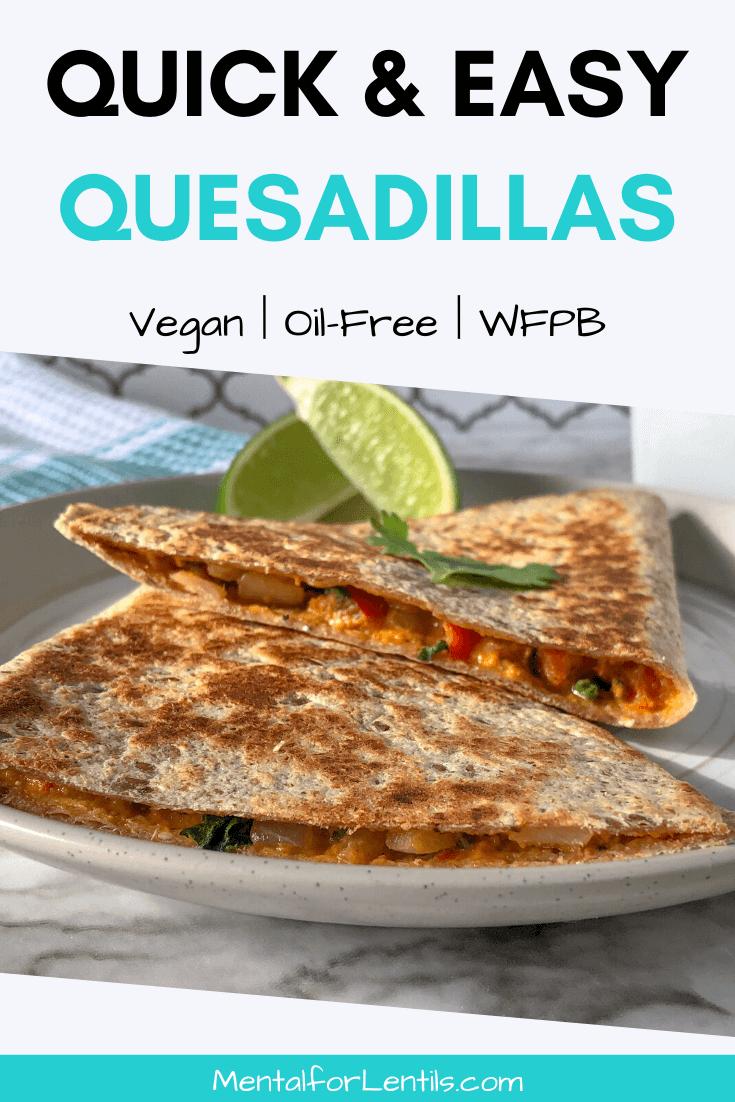 vegan quesadillas pin image 2