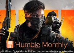 CoD BlOps 4 Humble Monthly