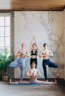 Practice improving your motivation - Yoga produces endorphins, which help in keeping you motivated