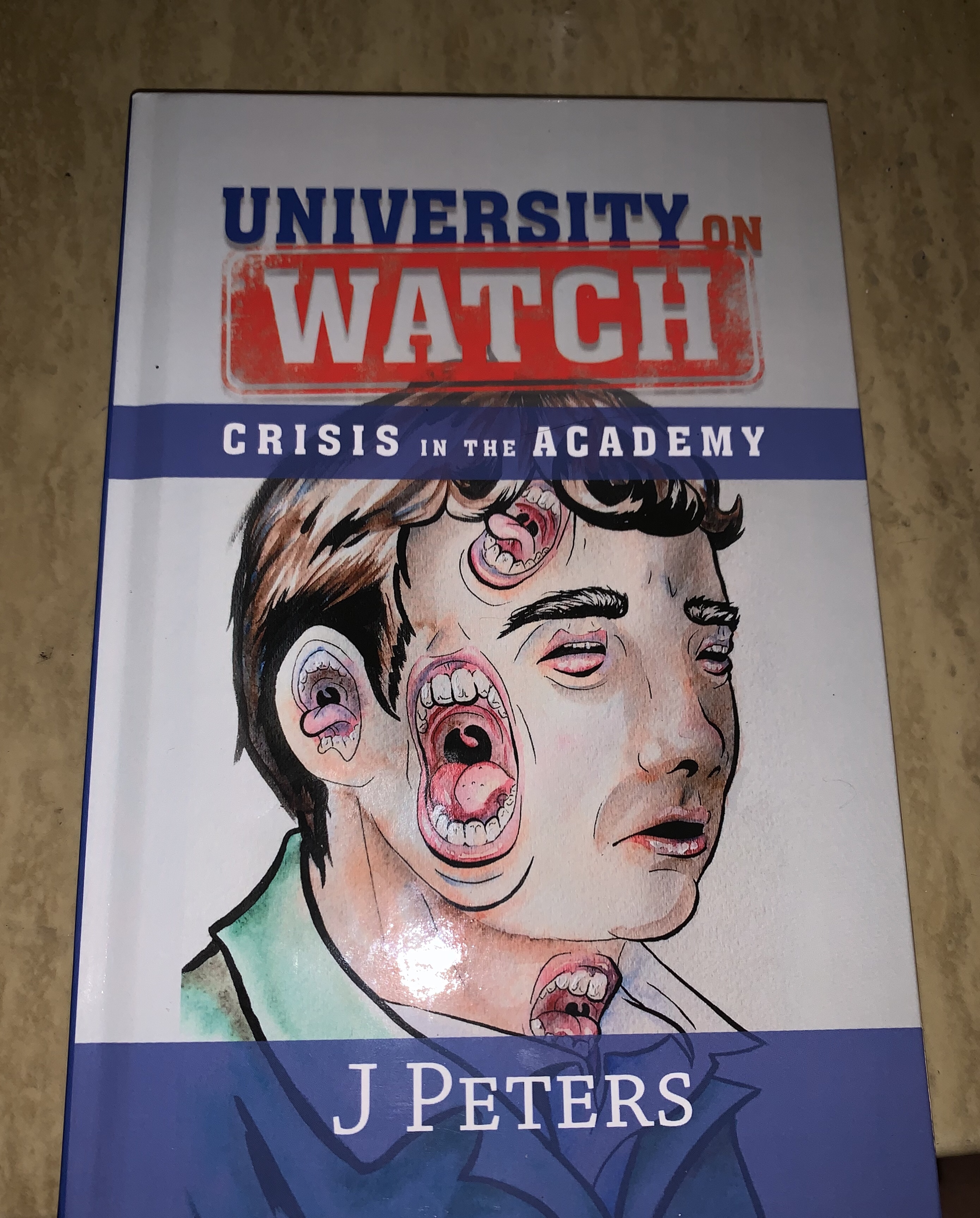 """New """"Lost Chapter"""" Chapter of University on Watch: Register Co-sign Arrest"""