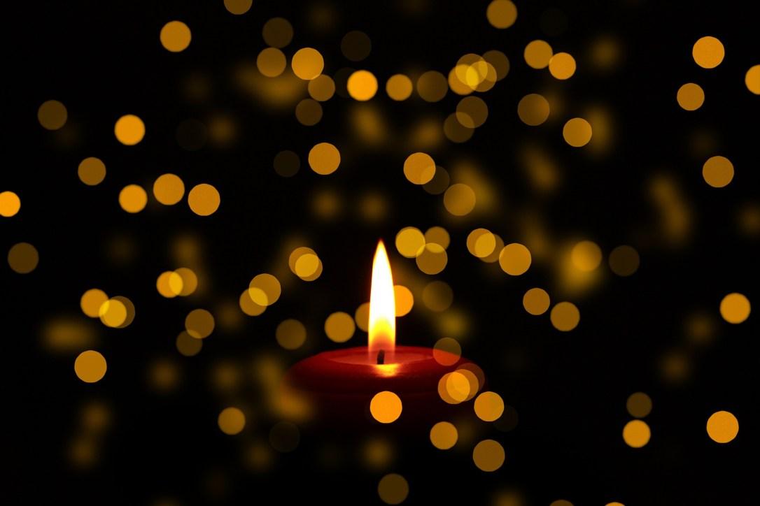 mourning candle