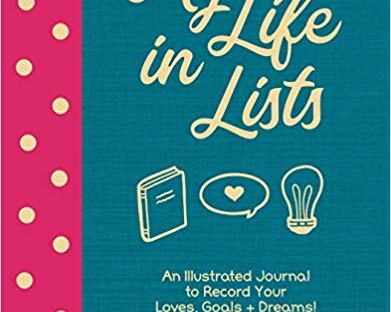 Book cover: My Life in Lists by Nicole Barlettano