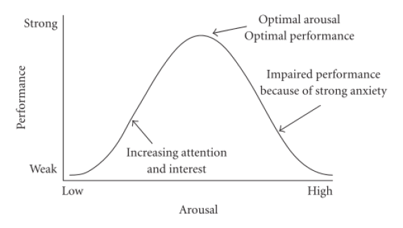 stress and performance chart