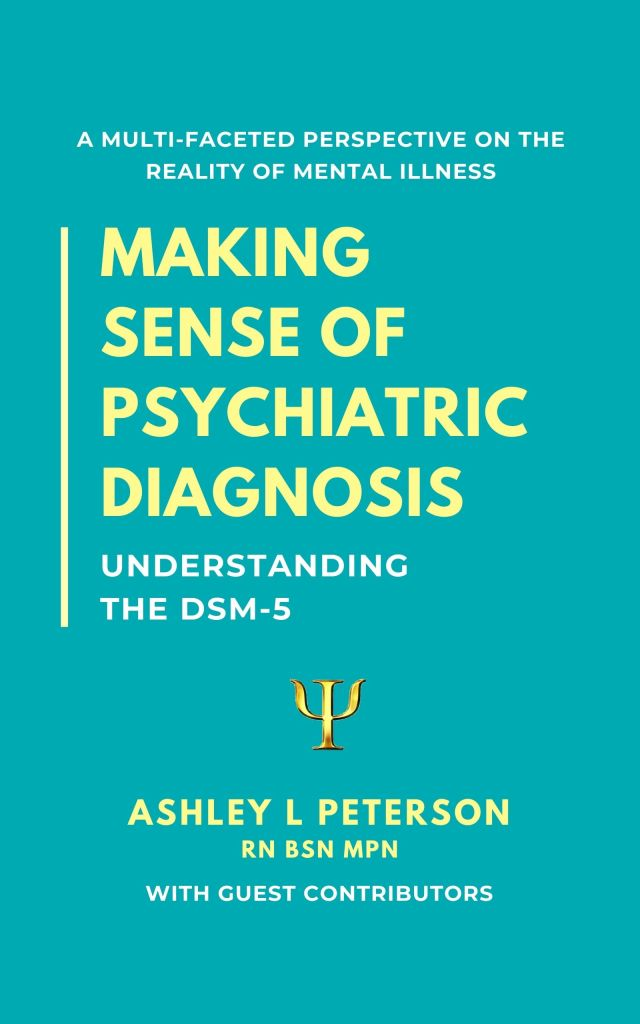 book cover: Making Sense of Psychiatric Diagnosis by Ashley L. Peterson