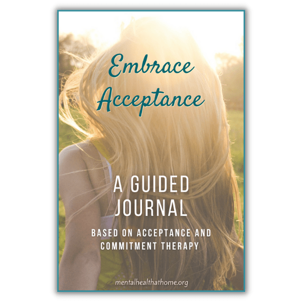 Embrace Acceptance guided journal