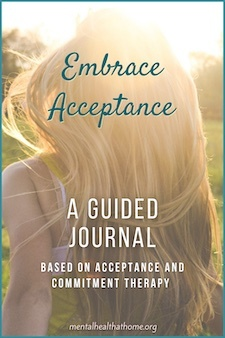 Embrace Acceptance guided journal cover