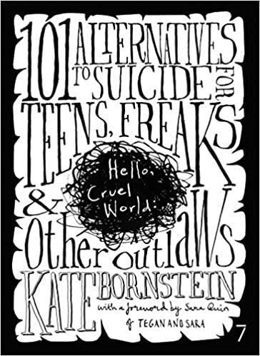 Book cover: Hello Cruel World by Kate Bornstein