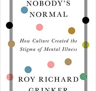 book cover: Nobody's Normal by Roy Richard Grinker