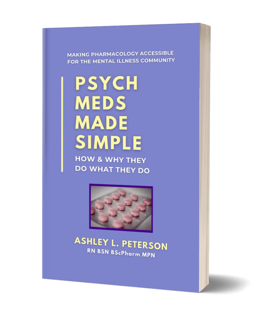 Psych Meds Made Simple by Ashley L. Peterson book cover