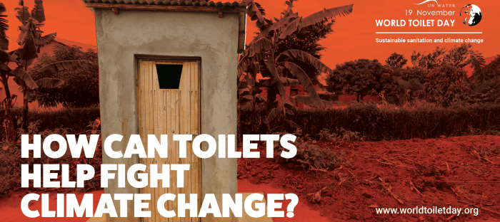 What have toilets got to do with climate change? World Toilet Day 2020
