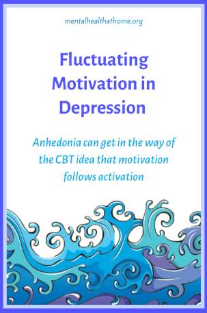 Fluctuating motivation in depression: anhedonia can get in the way