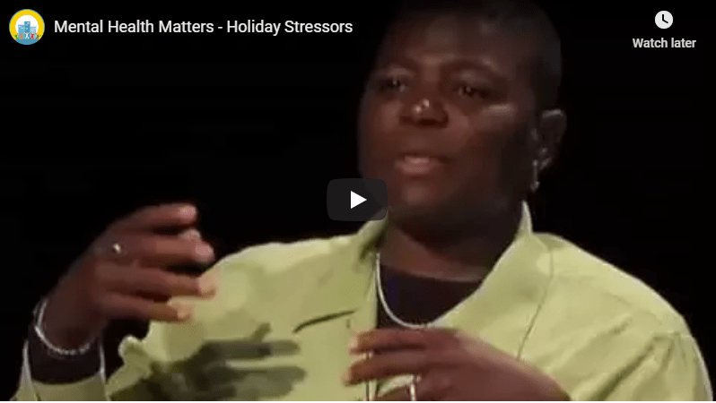 Holiday Stressors