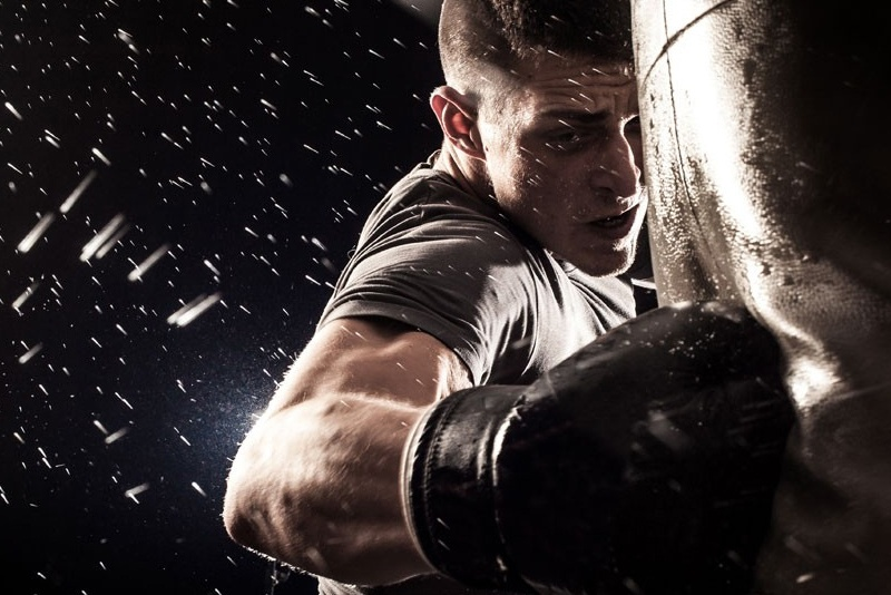 mental health is coming for you - blog post header - picture of boxer - mental health foundation