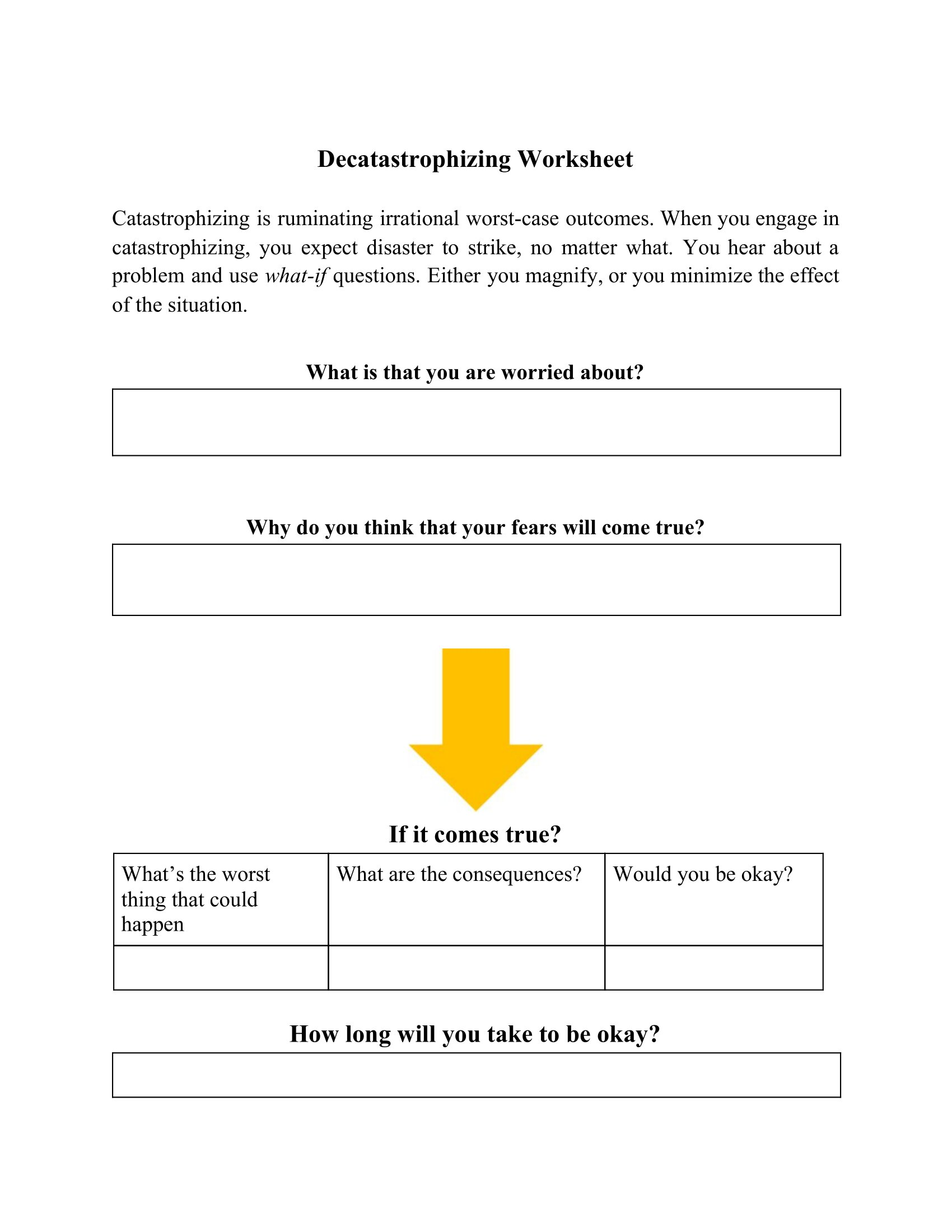 Abc For Voices Auditory Hallucinations Worksheet
