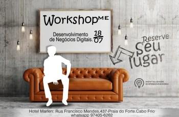 WorkshopME – Desenvolvimento de Negócios Digitais