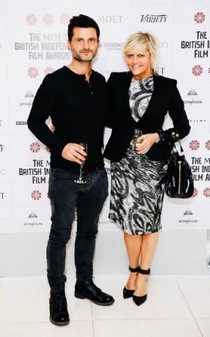 Raffaello DeGruttola and Camille Coduri - BIFA Awards