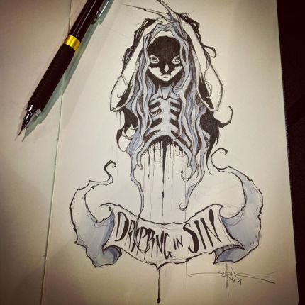 Dripping in Sin - Shawn Coss