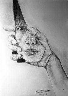 Fragmented Lives - Art by Rebecca Dandridge-Walker