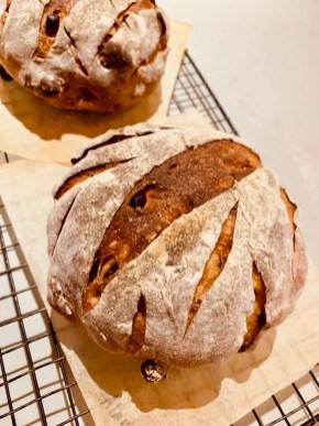 Dark Rye Currant Loaf