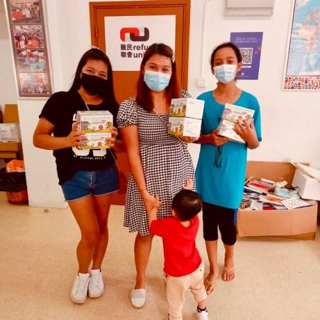 HKK Delivers Masks for Kids to Refugee Union