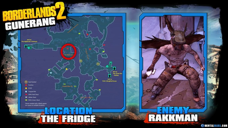 Borderlands 2 Legendary Gunerang Location Guide