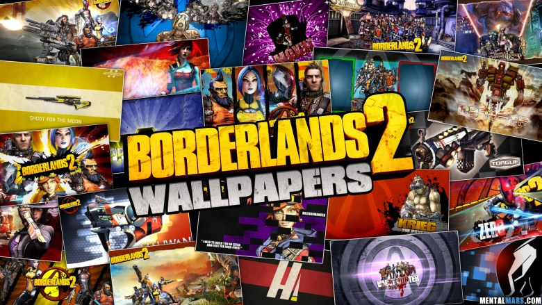 Borderlands 2 Wallpapers by MentalMars