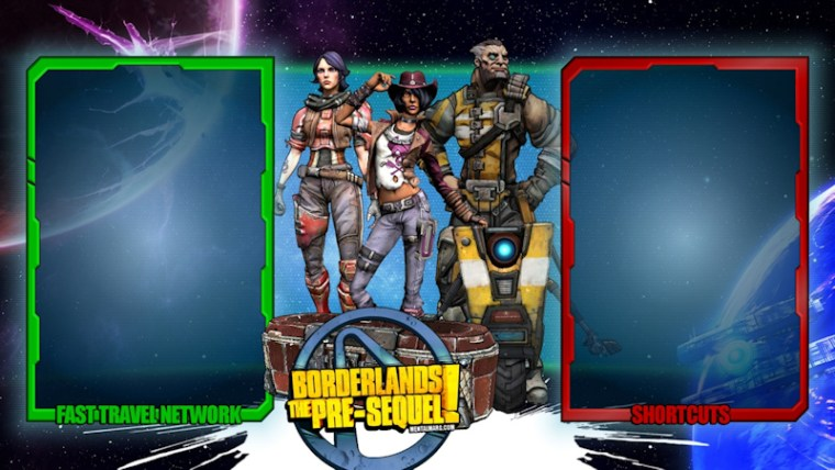 Borderlands the Pre-Sequel – Interface Wallpaper