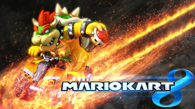 Mario Kart 8 Background: Bowser Wallpaper » MentalMars