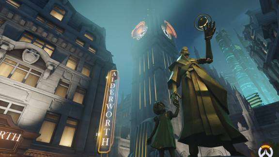 Overwatch King's Row Screenshot 7