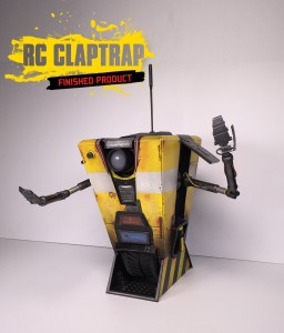 remote-controlled Claptrap steward robot