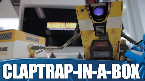 Borderlands: The Handsome Collection Claptrap In A Box Unboxing!