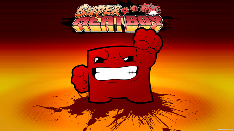 Super Meat Boy Wallpaper
