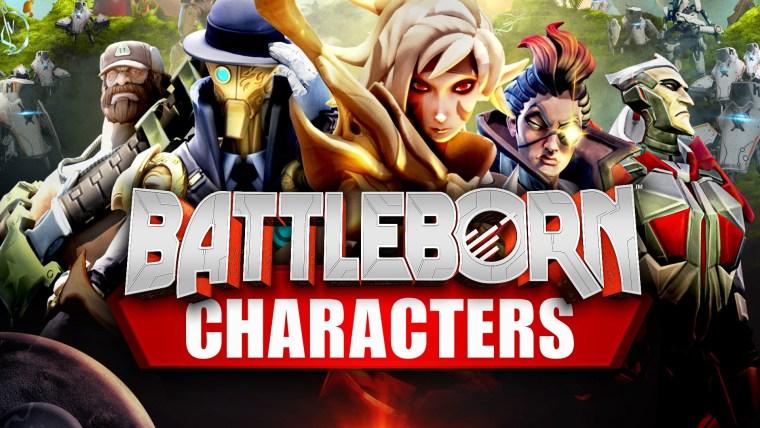Battleborn Characters - Hero Profiles