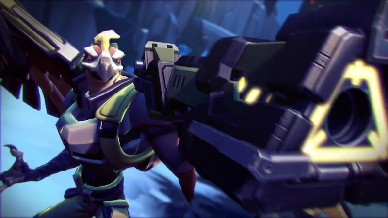 Battleborn - Cyborg Hawkmen
