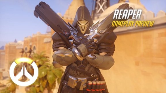Overwatch Reaper Gameplay Preview