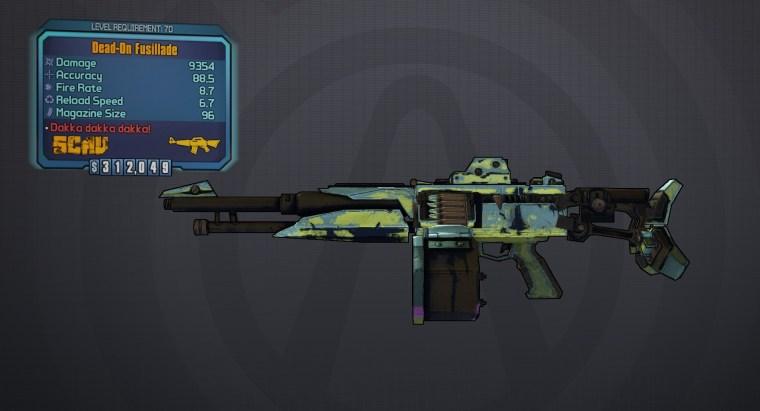 Fusillade Legendary Assault Rifle