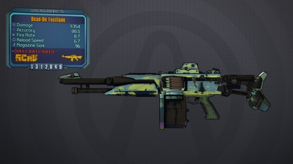 Hammer Buster II » Borderlands Legendary Weapon » MentalMars