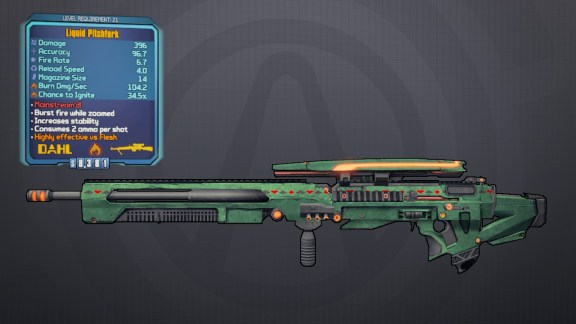 Pitchfork - Borderlands Legendary Sniper