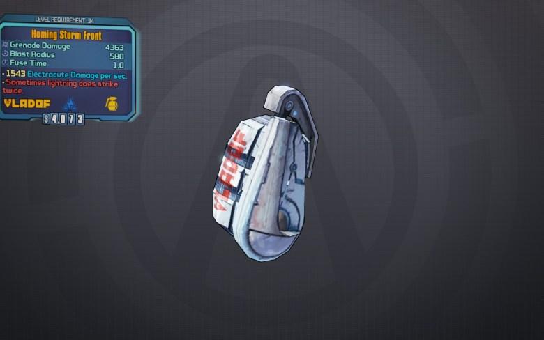 BLTPS Legendary Grenade Mod - Storm Front