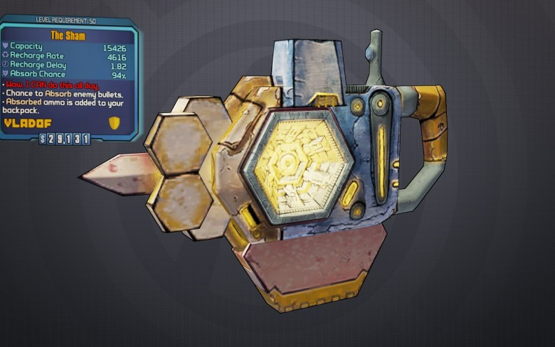 BLTPS Legendary Shield - The Sham