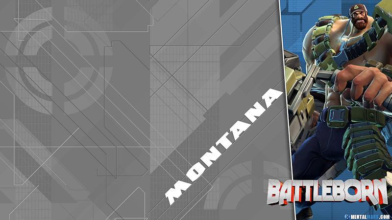 Battleborn Blade Wallpaper - Montana