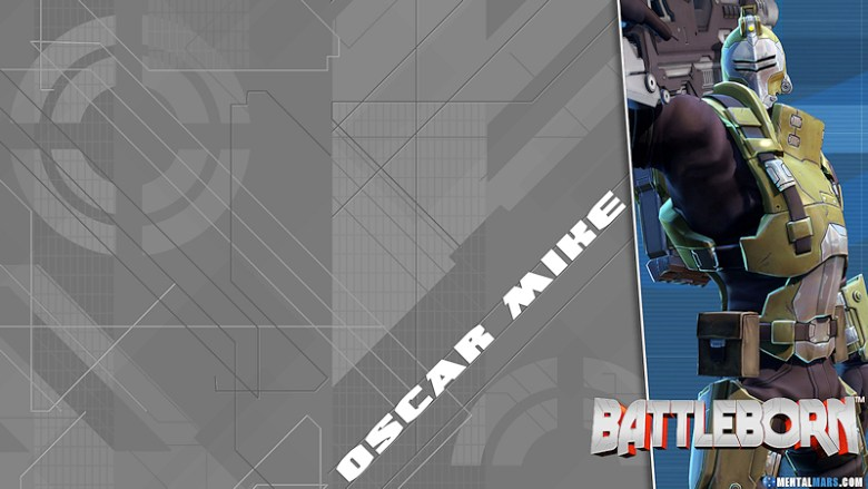 Battleborn Blade Wallpaper - Oscar Mike