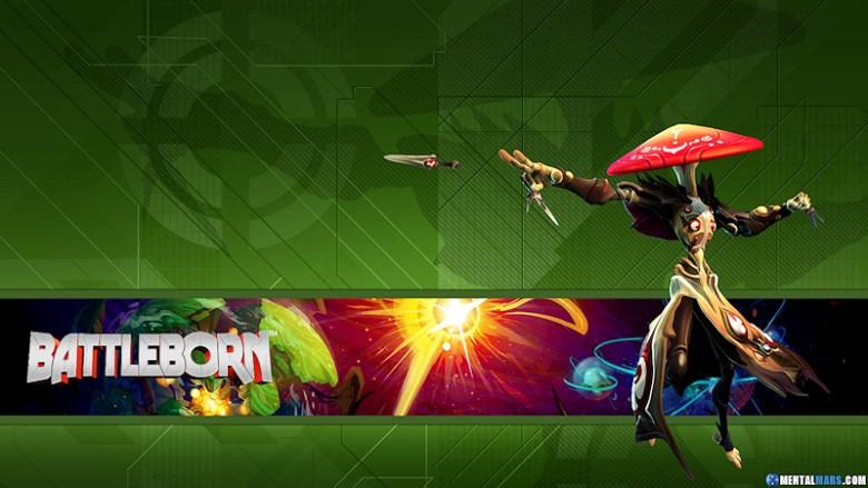 Battleborn Hero Wallpaper - Miko