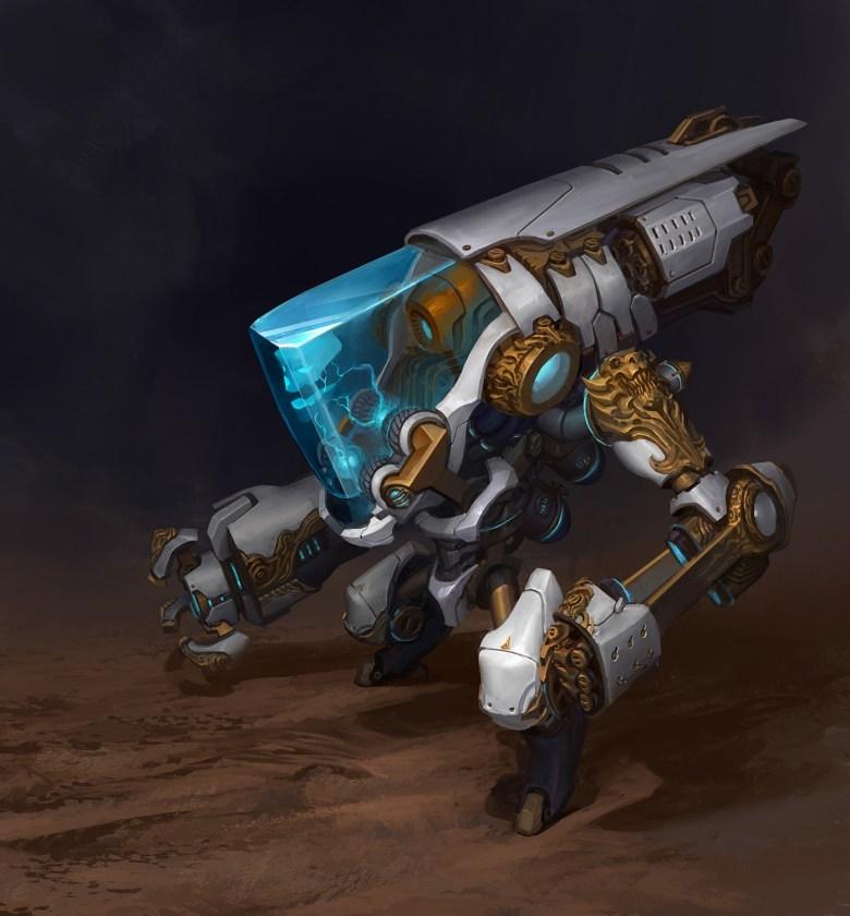 Battleborn ISIC Concept Art