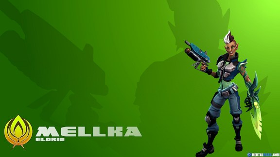 Battleborn Cool Wallpaper Mellka
