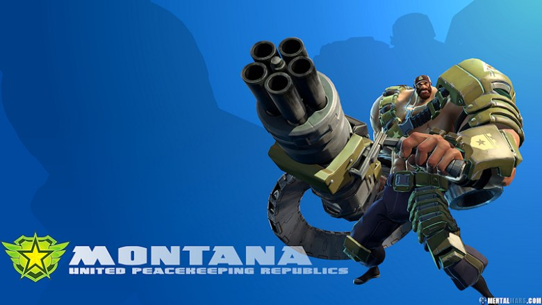 Battleborn Cool Wallpaper Montana