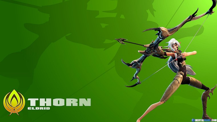 Battleborn Cool Wallpaper Thorn