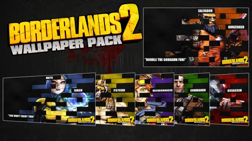 Borderlands 2 Legacy Wallpaper Pack