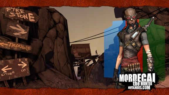 Borderlands Landscape Wallpaper - Mordecai